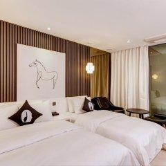 Hotel The Designers Cheongnyangni 3* Номер Делюкс с 2 отдельными кроватями фото 2