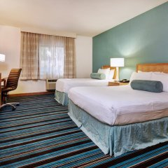 Отель Good Nite Inn West Los Angeles-Century City 2* Стандартный номер с различными типами кроватей фото 8