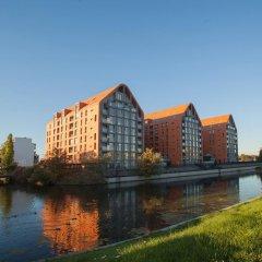 Отель Stay-In Aura Gdańsk Польша, Гданьск - отзывы, цены и фото номеров - забронировать отель Stay-In Aura Gdańsk онлайн приотельная территория