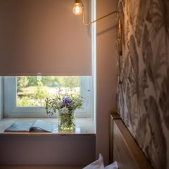 Отель Villa Eur Parco Dei Pini 3* Стандартный номер с различными типами кроватей фото 8