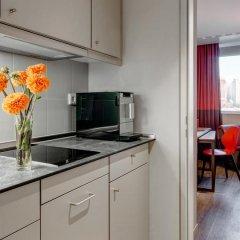 Отель Aparthotel Adagio Frankfurt City Messe 4* Студия с различными типами кроватей фото 4