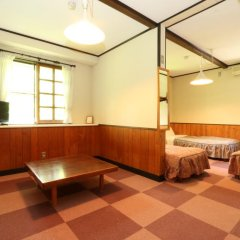 Отель Flower Garden Япония, Минамиогуни - отзывы, цены и фото номеров - забронировать отель Flower Garden онлайн комната для гостей фото 4