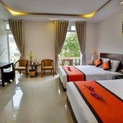 Отель Han Huyen Homestay 2* Номер Делюкс фото 3