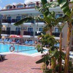 Bilnur Apart Deluxe Турция, Мармарис - отзывы, цены и фото номеров - забронировать отель Bilnur Apart Deluxe онлайн бассейн