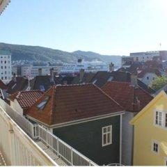Апартаменты Skottegaten Apartment балкон