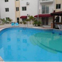 Отель Apartamento Aquarel Доминикана, Бока Чика - отзывы, цены и фото номеров - забронировать отель Apartamento Aquarel онлайн бассейн фото 3