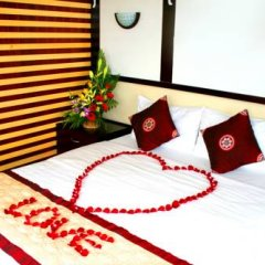 Отель Halong Aurora Cruises 3* Номер Делюкс с различными типами кроватей фото 5
