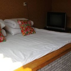 Отель Badaling Tieguowang Inn Beijing Стандартный номер с различными типами кроватей фото 3