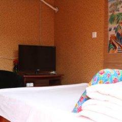 Отель Badaling Tieguowang Inn Beijing Стандартный номер с различными типами кроватей