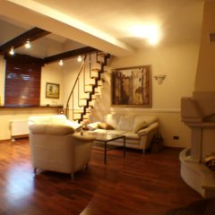 Отель Hevelius Residence Улучшенные апартаменты с различными типами кроватей фото 11