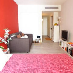Отель Chic Rentals Centro Улучшенная студия с различными типами кроватей