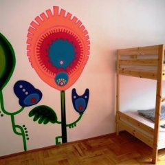 Kogut czy Kura Hostel Кровать в общем номере с двухъярусными кроватями фото 5
