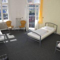 Rixpack Hostel Neukölln Кровать в общем номере с двухъярусной кроватью фото 27