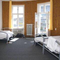 Rixpack Hostel Neukölln Кровать в общем номере с двухъярусной кроватью