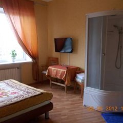 Мини-Отель Шаманка Улучшенный номер двуспальная кровать фото 6