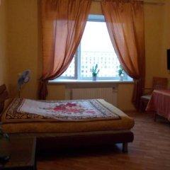 Мини-Отель Шаманка Улучшенный номер двуспальная кровать фото 7