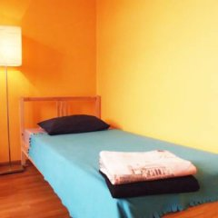 Хостел Artist на Бауманской Кровать в мужском общем номере двухъярусные кровати