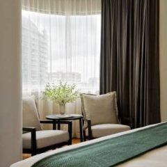Отель Fraser Residence Orchard Улучшенные апартаменты с различными типами кроватей фото 4