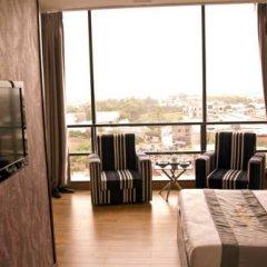 Thien Phu Logia Hotel 2* Люкс с различными типами кроватей фото 7