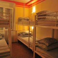 Хостел-П Кровать в общем номере с двухъярусной кроватью