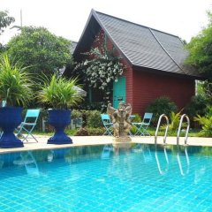 Отель Pictory Garden Resort 3* Бунгало с разными типами кроватей фото 3