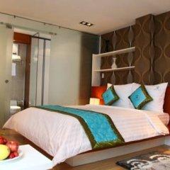Отель Angela Boutique Serviced Residence 4* Студия Делюкс с различными типами кроватей фото 8