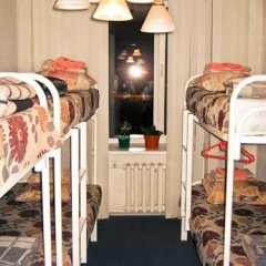 Хостел Достоевский Кровать в общем номере с двухъярусной кроватью фото 42