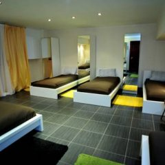 Hostel Golyanovo Кровать в мужском общем номере с двухъярусной кроватью фото 14