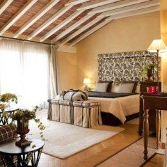 Отель L'Albereta, Relais & Chateaux 5* Улучшенный номер с различными типами кроватей