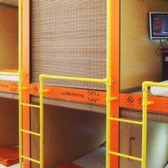Woke Home Capsule Hostel Кровать в общем номере с двухъярусной кроватью фото 10