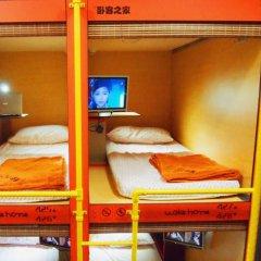 Woke Home Capsule Hostel Кровать в общем номере с двухъярусной кроватью