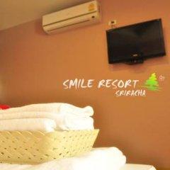 Отель Smile Resort Sriracha 2* Стандартный номер с различными типами кроватей фото 4