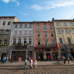 Hostel Just Lviv It! Кровать в общем номере с двухъярусной кроватью фото 3