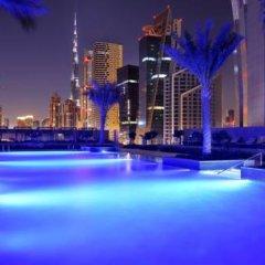 Отель JW Marriott Marquis Dubai 5* Представительский люкс с различными типами кроватей фото 14