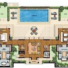 Отель Sofitel Singapore Sentosa Resort & Spa 5* Вилла с различными типами кроватей фото 14