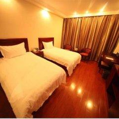 GreenTree Inn Jiangxi Jiujiang Shili Avenue Business Hotel 2* Стандартный номер с 2 отдельными кроватями