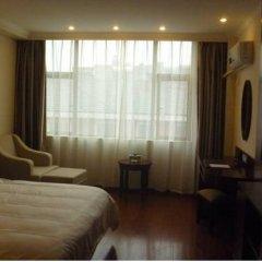 GreenTree Inn Jiangxi Jiujiang Shili Avenue Business Hotel 2* Стандартный номер с различными типами кроватей фото 6