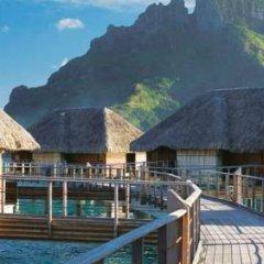 Отель Four Seasons Resort Bora Bora 5* Бунгало с различными типами кроватей фото 19