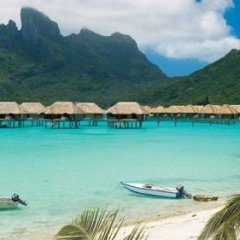Отель Four Seasons Resort Bora Bora 5* Бунгало с различными типами кроватей фото 27