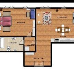 Отель Residence The River 2* Апартаменты с различными типами кроватей фото 3