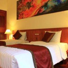 Отель The Earth Villa 3* Улучшенный номер с различными типами кроватей фото 8