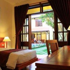 Отель The Earth Villa 3* Улучшенный номер с различными типами кроватей фото 3
