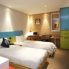 Hotel The Designers Samseong 3* Номер Делюкс с различными типами кроватей фото 14