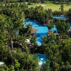 Отель Mingshen Golf & Bay Resort Sanya 4* Улучшенный номер с различными типами кроватей фото 2