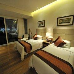 Отель Mingshen Golf & Bay Resort Sanya 4* Улучшенный номер с различными типами кроватей фото 3