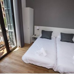 Отель Hostalin Barcelona Gran Via 3* Стандартный номер с различными типами кроватей фото 12
