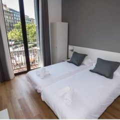 Отель Hostalin Barcelona Gran Via 3* Стандартный номер с различными типами кроватей фото 19