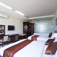 Dong Du Hotel 3* Люкс с различными типами кроватей фото 3