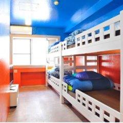 Отель Khaosan Tokyo Laboratory Кровать в общем номере фото 12
