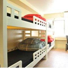 Отель Khaosan Tokyo Laboratory Кровать в общем номере фото 9